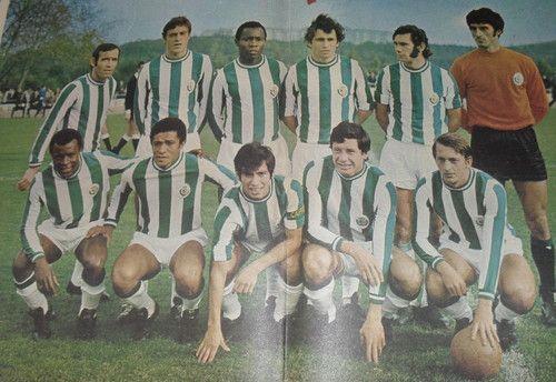VITÓRIA DE SETÚBAL 1972-73 -VITÓRIA DE SETÚBAL 1972-73   Carriço,João Cardoso,Conceição,Rebelo,José Mendes,Joaquim Torres José Maria,Duda,Octávio,Campora,Vicente.