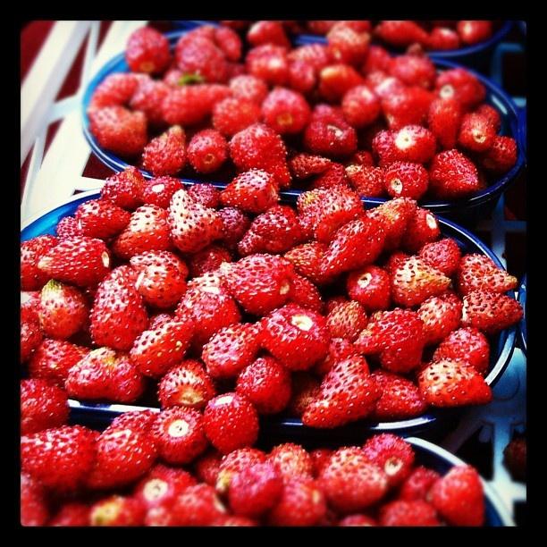 Fragoline di Ribera #fragoline  #ribera  #sicily  #strawberry - @daviderabbit- #webstagram