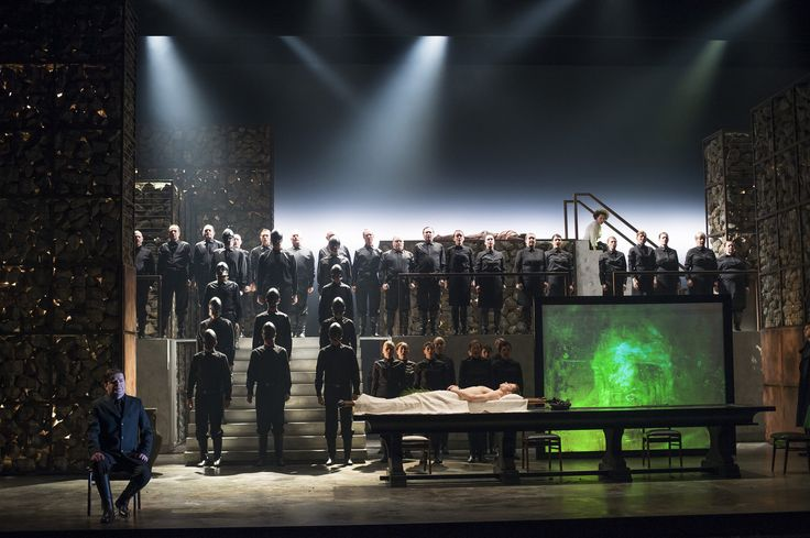 Julian Anderson's Thebans from the English National Opera. Production by Pierre Audi. Sets by Tom Pye.