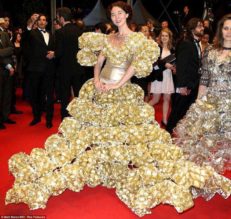 Most Ugly Wedding Dresses: Cannes Worst Dressed & More Ugly Celebrity Pics -- The