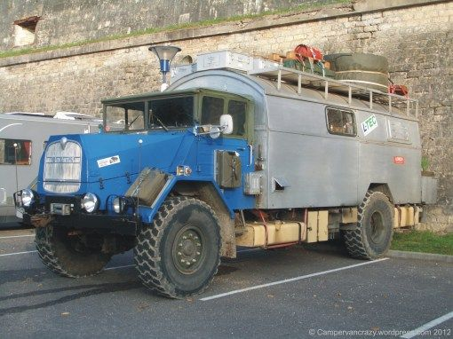 Old School MAN Expedition Vehicle