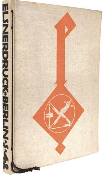 [TYPOGRAPHY]. ELSNER, Otto. (printer). DEFFKE, F. Wilhelm H. (artist). Elsner-Druck. Otto Elsner. Buchdruckerei und Verlagsbuchhandlung Akt.-Ges. Berlin. - Fur Freunde guter Druckkunst.  Berlin, Elsner, 1914.