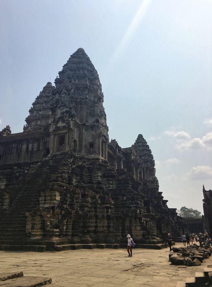 Angkor Wat, Siem Reap, Cambodia. 26 March 2016