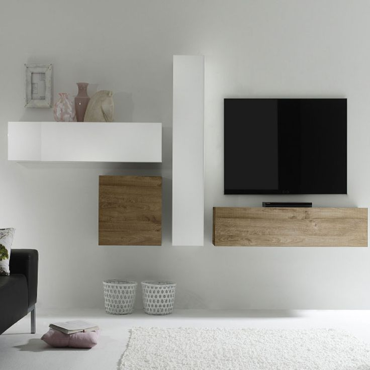 Best 25 meuble tv blanc ideas on pinterest meuble t l blanc unit s tv an - Meuble blanc laque ikea ...