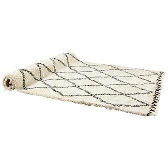 Vloerkleed Varamin Zwart/wit 160x230 cm | Vloerkleden | Woonaccessoires | Meubelen | KARWEI