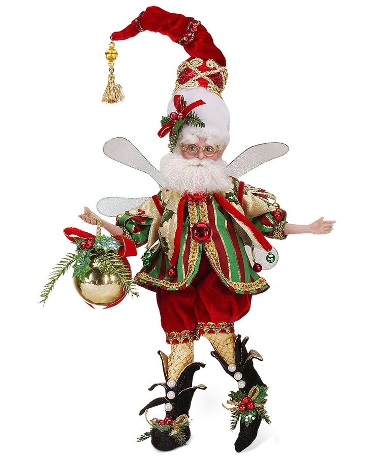 Christmas Fairy Decorations: 133 Best Images About Santa Collections On Pinterest