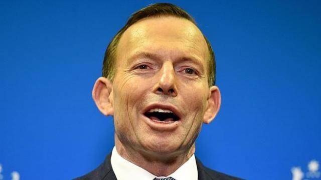 "PM Tony Abbott wants us all to be on ""Team Australia"" - what a deluded douche..."