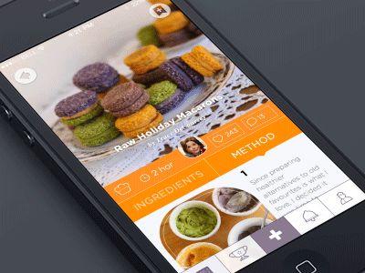 76 best food design images on pinterest food design app design gif recipe appmethod screen forumfinder Choice Image