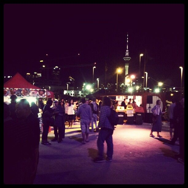 Friday Night Markets @ Silo Park, Auckland CBD