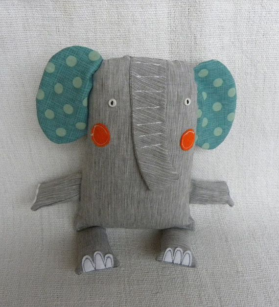 Fonzie the Elephant by krakracraft on Etsy, $19.50