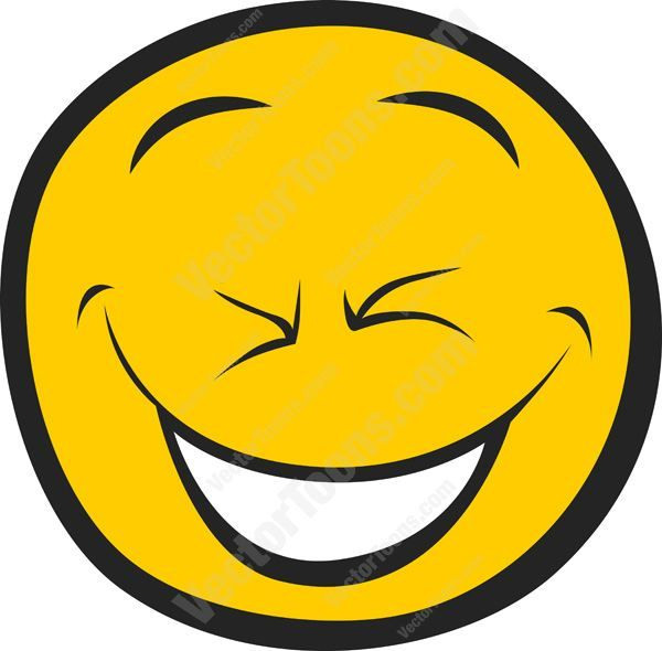 Hilarious, Hard-Laughing, Cracked Up Smiley Face #cheerful #computer #ecstatic #emotion #excited #expression #face #feeling #happy #icon #joyful #laughing #mood #PDF #smiley #smiling #vectorgraphics #vectors #vectortoons #vectortoons.com