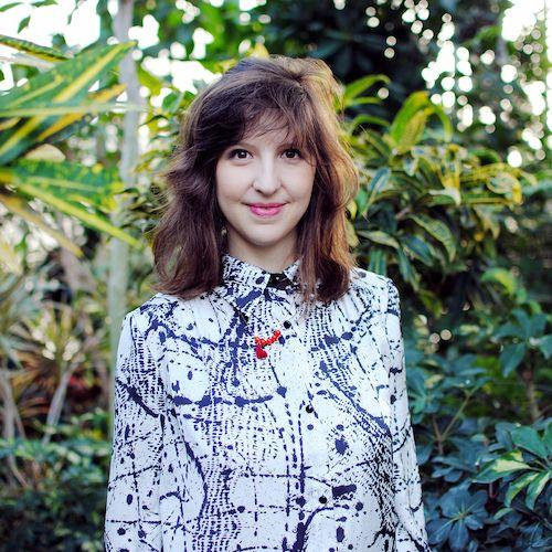 """Cécile Hibon, créatrice des bijoux """"Le Toucan Bleu"""""""