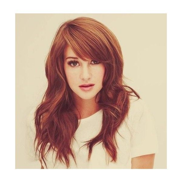 These Heavy Side Swept Bangs Are Amazing Gorgeous Hair Is The