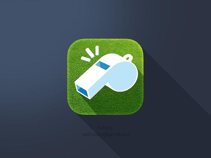 'Couch Call' Ios Flat App Icon by Aditya Chhatrala