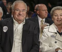 Joe and Marlene Ricketts. She donated $3 million to an anti-Trump super PAC. USA Today:  Meet the woman funding the effort to stop Trump