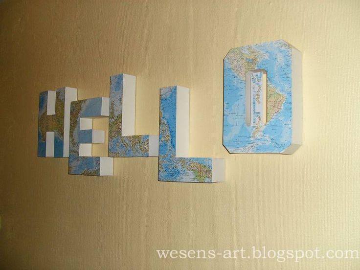 DIY 3D Letters