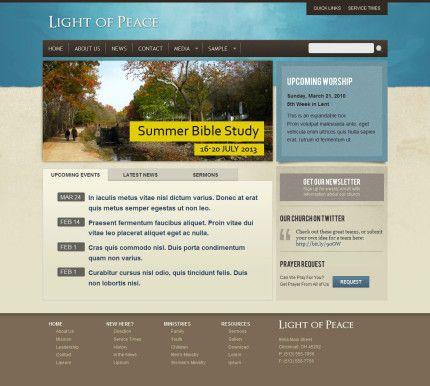 8 best Website Design Ideas Churches images on Pinterest