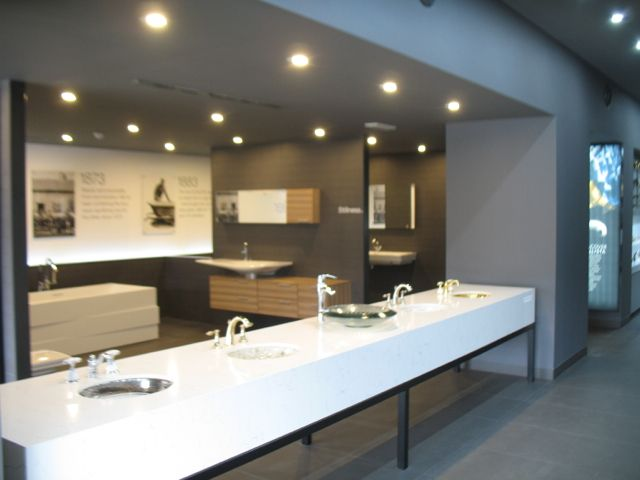 Kohler Artist Editions In The Showroom