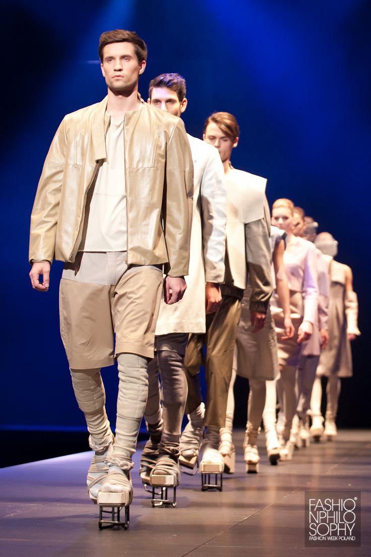 GIZA /fot. Łukasz Szeląg / #GalaAbsolwentów2013 #ASP #FashionWeekPoland #Lodz #FashionPhilosophy #FashionDesigners