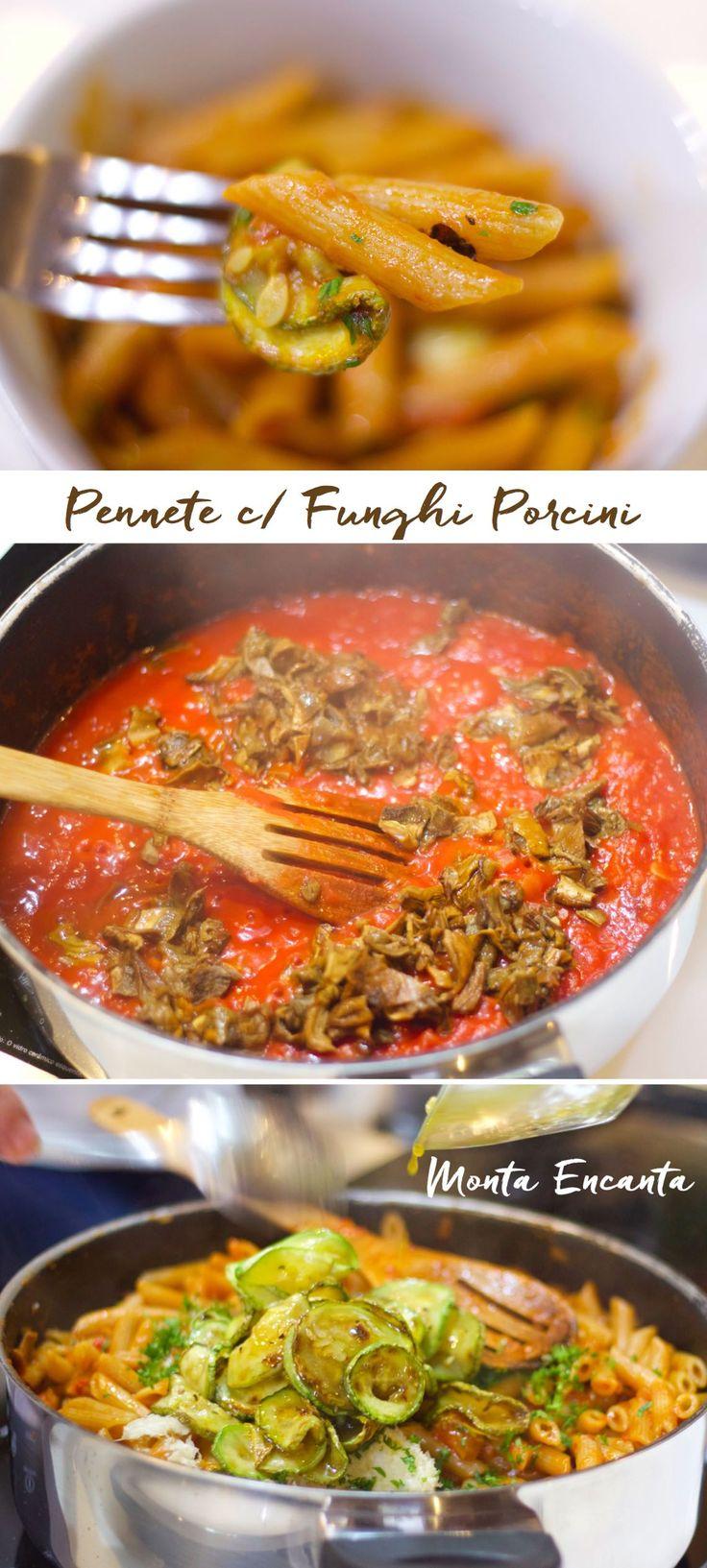 Pennete Com Abobrinha e Funghi Porcini – Pode confiar nesta receita, para aquelas horas em que você quer impressionar os convidados, mas está sem muito tempo para executar. Pasta al …