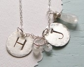 initial necklace....simple and beautiful