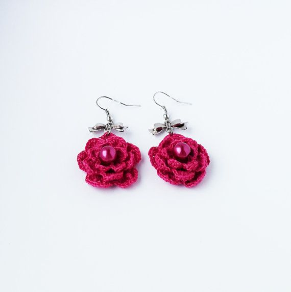 Flower Jewelry Handcrafted artisan jewelry by CatanaHandmade