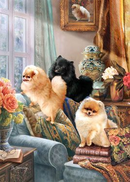 The Pomeranian Guard Limited Edition Print