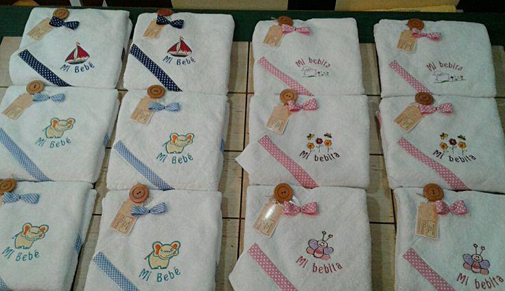 Capitas de baño para Recién Nacido #toalla #baño #reciennacido #regalo #bebé #babyshower