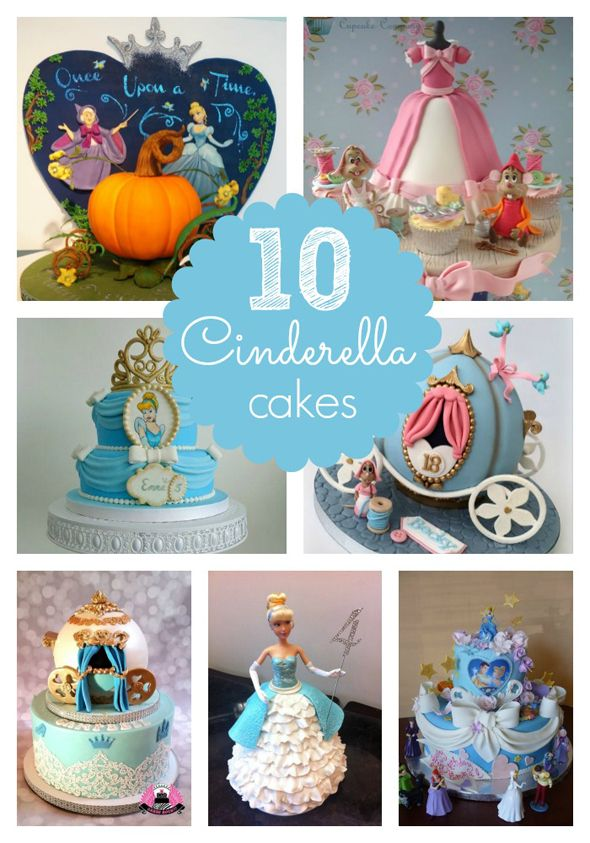 10 Amazing Cinderella Birthday Cakes - Pretty My Party