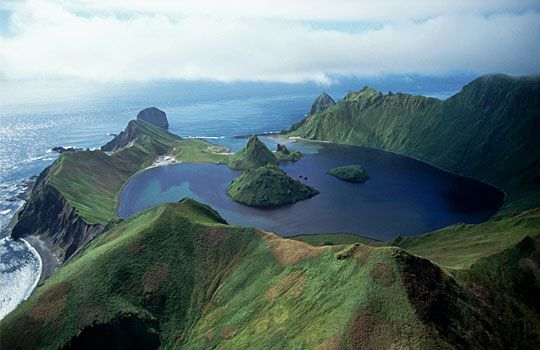 Kuril Islands, Russia... the volcanically active Ring of Fire. Stunning!