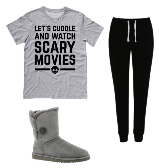 """""""Lazy Weekends"""" by anissa-c on Polyvore featuring George and UGG Australia"""