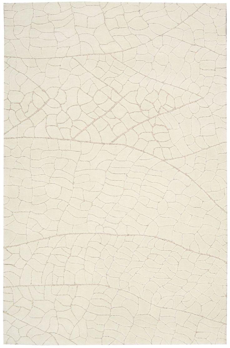 Nourison Escalade Ivory Area Rug ESC01 IV (Rectangle)