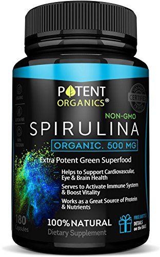 Eco-Pure Spirulina 500 mg – Organic, 100% Vegetarian & No... https://www.amazon.com/dp/B0728KTLHF/ref=cm_sw_r_pi_awdb_x_tI41zbJZR5H0F