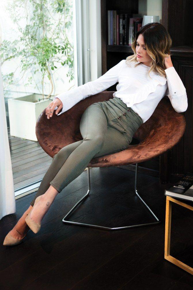 La marque Morgan annonçait début mars le lancement d'une collection capsule printemps-été 2017 avec la modeuse Caroline Receveur...