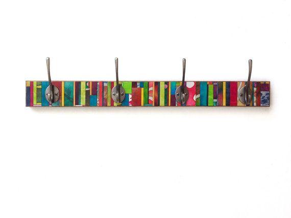 Handmade Paper Wall Coat Rack  @ calyrew.com