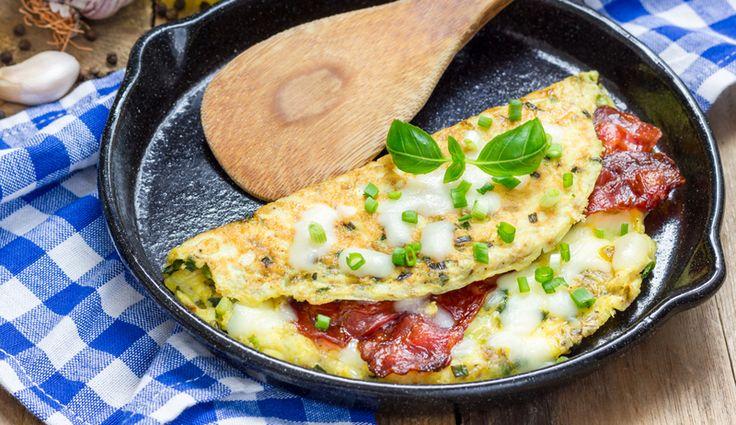 Bacon-Omelette