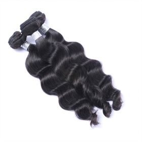 Natural Color Brazilian Virgin Hair Loose Wave 3 pc/lot BVMD0023