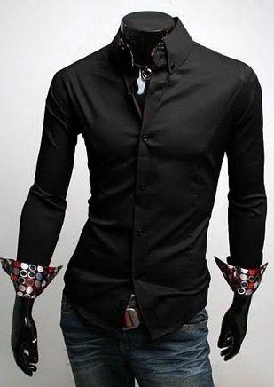 Camisas Trevoda Deluxe Para Hombre Ropa Fashion Caballero