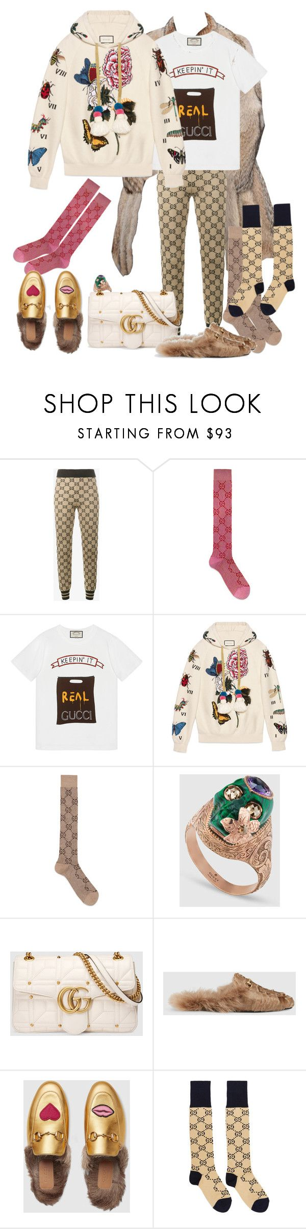 """Keepin' It Kozy.. ❄️"" by digitalfashon ❤ liked on Polyvore featuring Gucci"