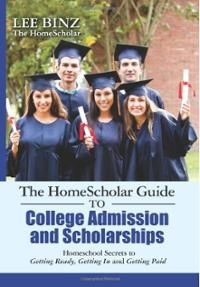 """Giveaway, enter by Jan 7: """"The HomeScholar Guide to  College Admission and Scholarships""""  by Lee Binz   Learn the secrets to successfully navigate the college process from start to finish, including selecting a college, negotiating college fairs, earning merit-based scholarships, and marketing your student effectively. Rent or purchase college prep material from https://www.yellowhousebookrental.com/"""