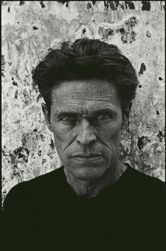 Willem Dafoe by Kurt Iswarienko