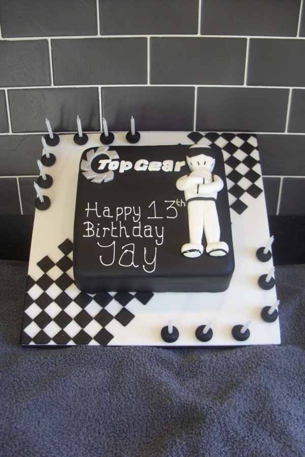 Top Gear Stig Cake Upcoming 16th BIRTHDAY PARTY FOR MICAH