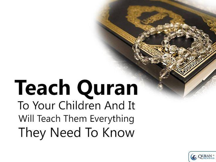 Teach quran