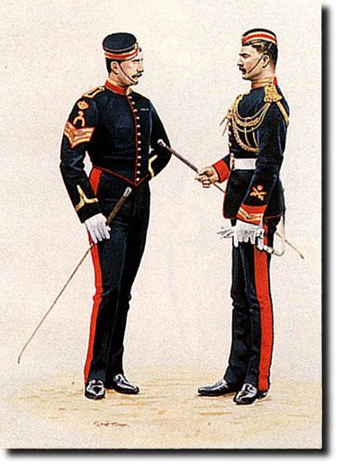 British Empire: Armed Forces: Royal Horse Guards: Corporals of Horse, 1896