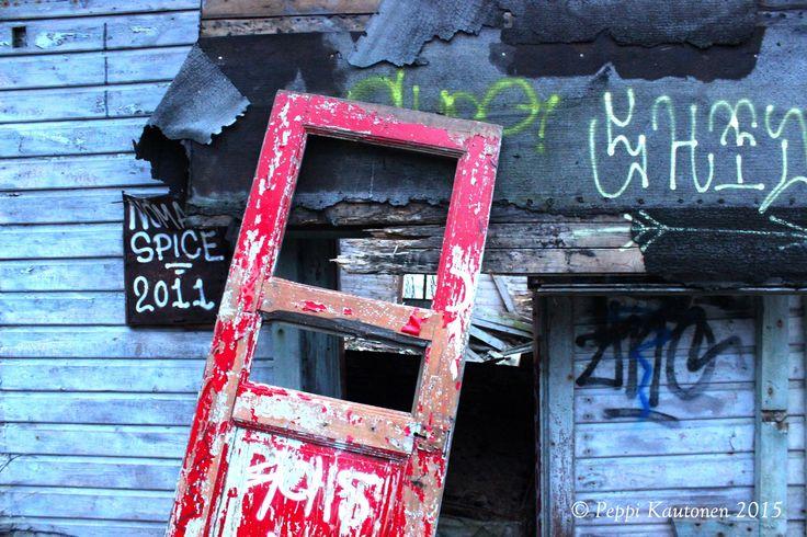 -An abandoned villa in Kruunuvuori-