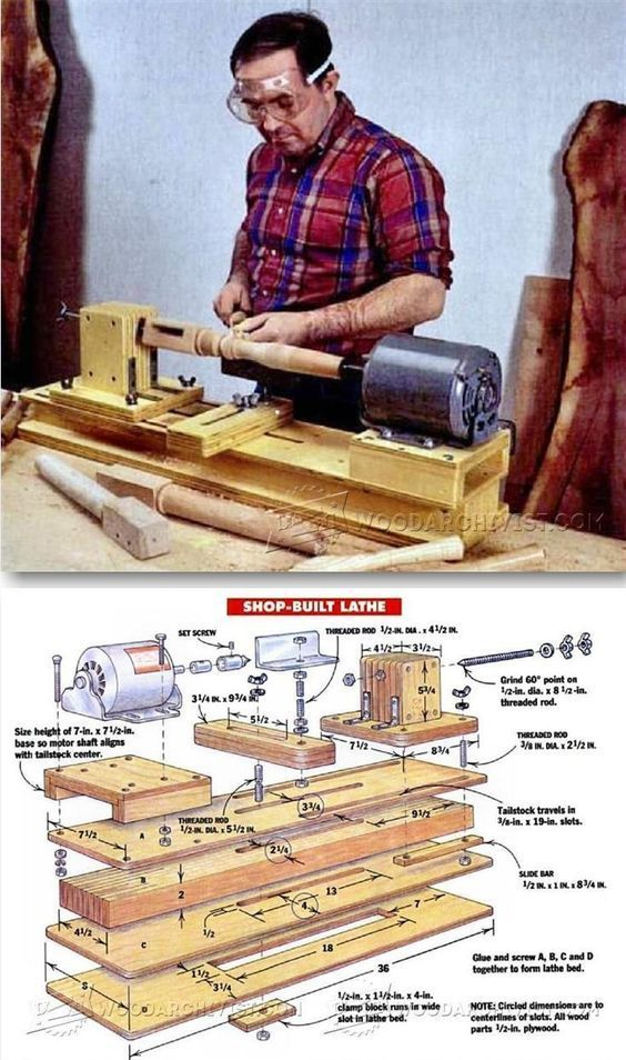 Woodworking Jigs, Carpentry, Woodworking Projects, Woodworking Classes, Diy Lathe, Wood Lathe, Lathe Projects, Wood Projects, Wood Crafts