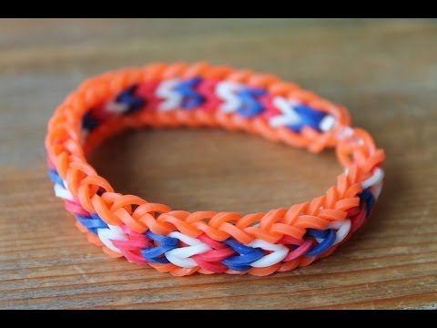 Rainbow Loom Nederlands, Lacey Zee armband - YouTube