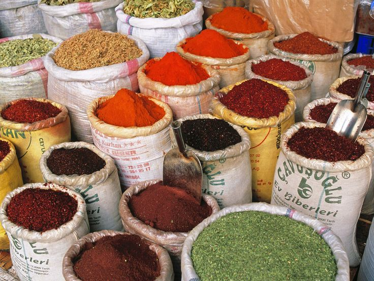 Spices of Town.
