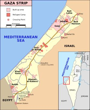 Gaza Strip - Wikipedia, the free encyclopedia