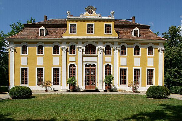 Barockschloss Neschwitz - Westlich von Bautzen